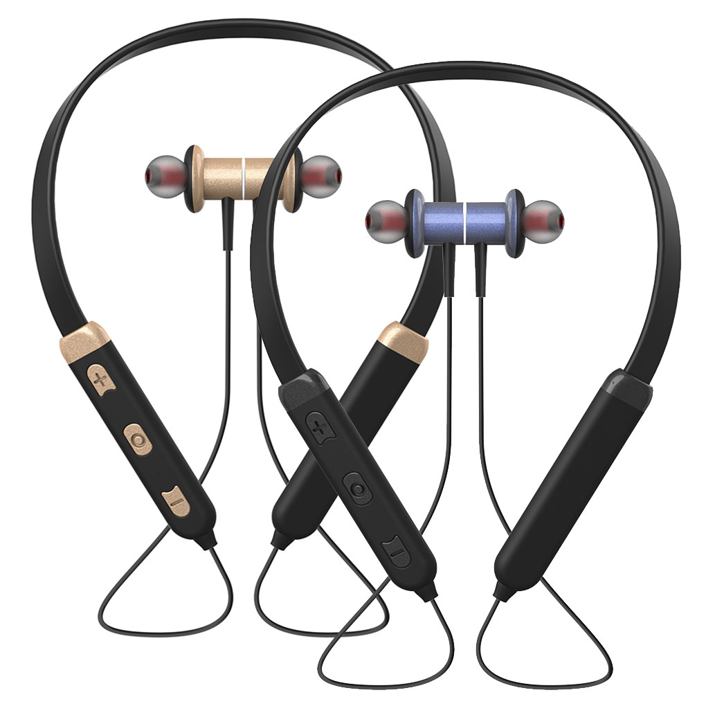 BT32 Bluetooth 4,2 Wireless In-Ear Noise-Cancelling Headset Sport Wasserdichte Ohrhörer 180mAh <font><b>Batterie</b></font> image
