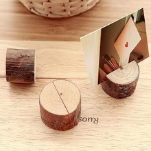 1pcs/lot New Vintage Simple Nature Wooden DIY Meaasge gift prize school office supplies