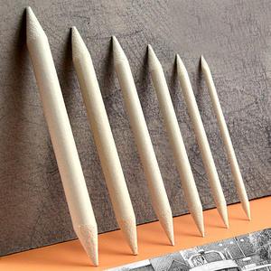 Blending Smudge Pen-Supplies Stick Stump Sketcking-Tool Rice-Paper Drawing Charcoal White