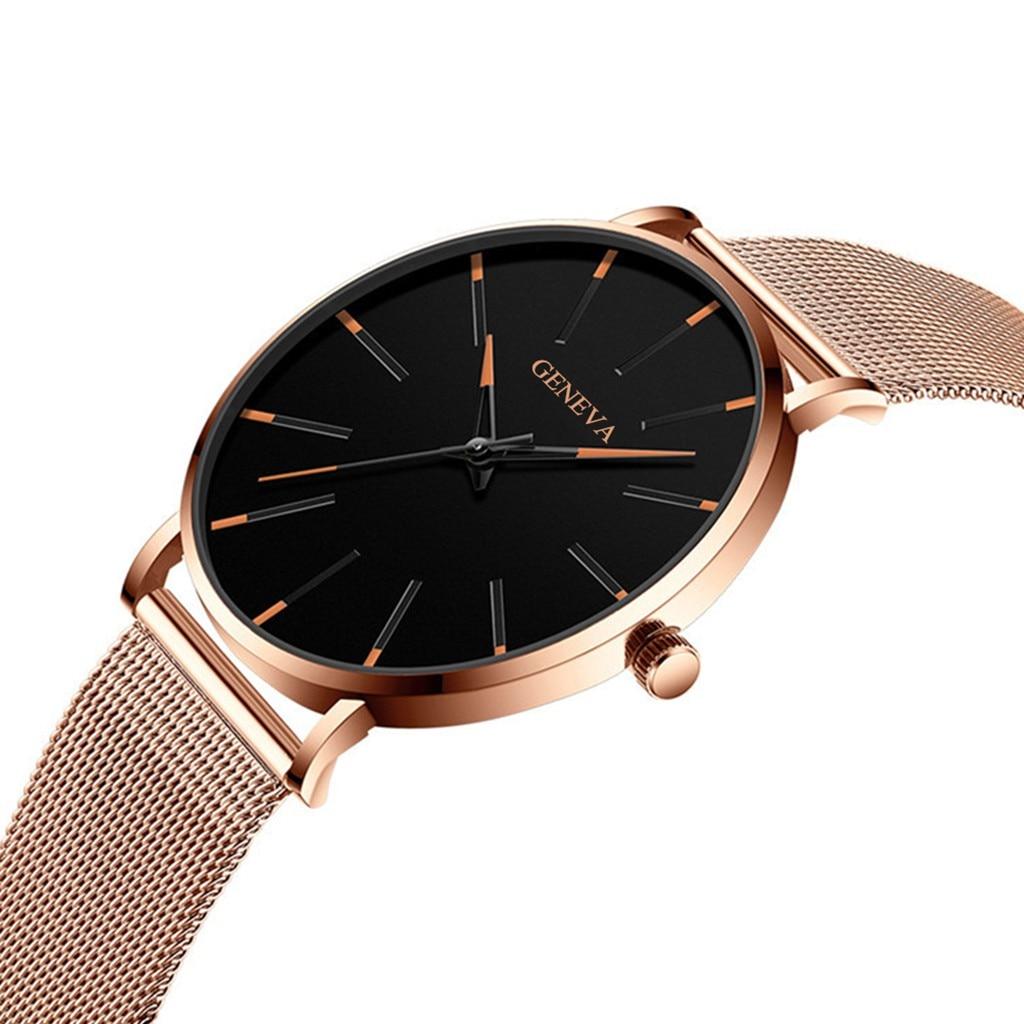 Men Luxury Watches Quartz Wrist watch Man Sport Analog Wristwatch Stainless Steel Casual Bracele Watch Simple Top Brand Clock 3