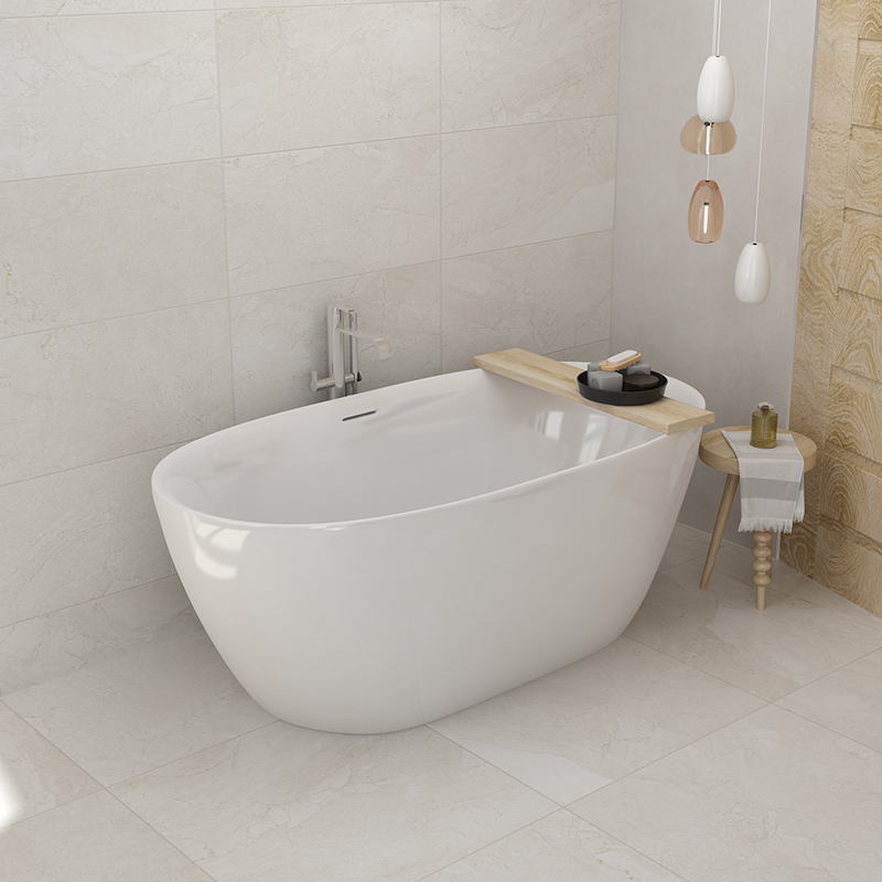 Aojin estilo europeu banheira de família acrílico banheiro único comum banheira autônomo 1500mm-1