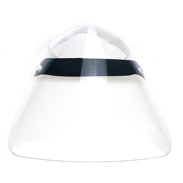 1 Pcs PVC Lightweight Transparent Face Shield Anti-splash Isolation Protective Mask Anti flu 5