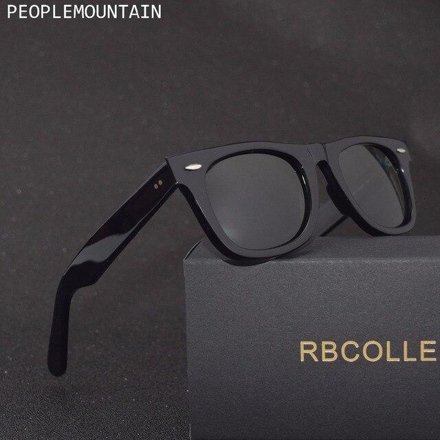 זכוכית עדשת גברים של משקפי שמש אופנה וינטג עיצוב גברים נשים משקפי שמש נהיגה שיקוף משקפי אלגנטי נשי כיכר