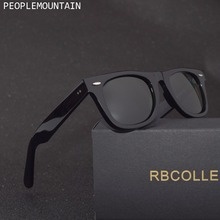Gafas de sol con lentes de cristal para hombre y mujer, lentes de sol unisex con diseño Vintage, adecuadas para conducir, gafas para nadar reflectantes, cuadradas y elegantes
