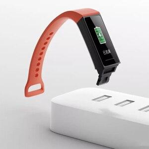 Image 4 - Xiaomi Redmi zespół inteligentny pulsometr Sport Monitor Bluetooth 5.0 wodoodporna bransoletka dotykowy duży kolorowy ekran nadgarstek