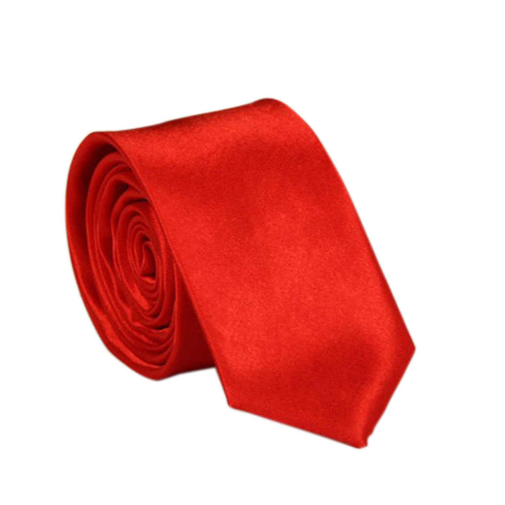 6-12-48 Mens Slim Wedding Solid Plain Necktie Color Tie Stag Do Fancy Dress Ties