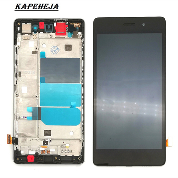 5.0LCD For Huawei P8 Lite ALE-L04 ALE-L21 Replacement Screen Display Digitizer Touch Screen Assembly for huawei honor 8 lite lcd display touch screen digitizer assembly replacement free tools