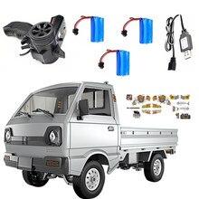 Wpl d12 1/10 rc carro 2.4g 2wd rastreador fora da estrada rbr/c modelos de veículos brinquedo caminhão de controle remoto brinquedos carro escalada para meninos crianças presente
