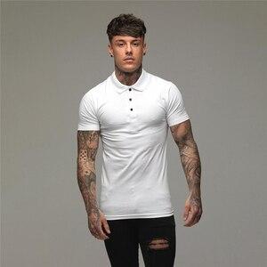 Polo Shirts Slim Fit Short Sle