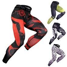 Calças de compressão masculinas, esportes atléticos leggings de yoga & workout executando calças justas calças esportivas