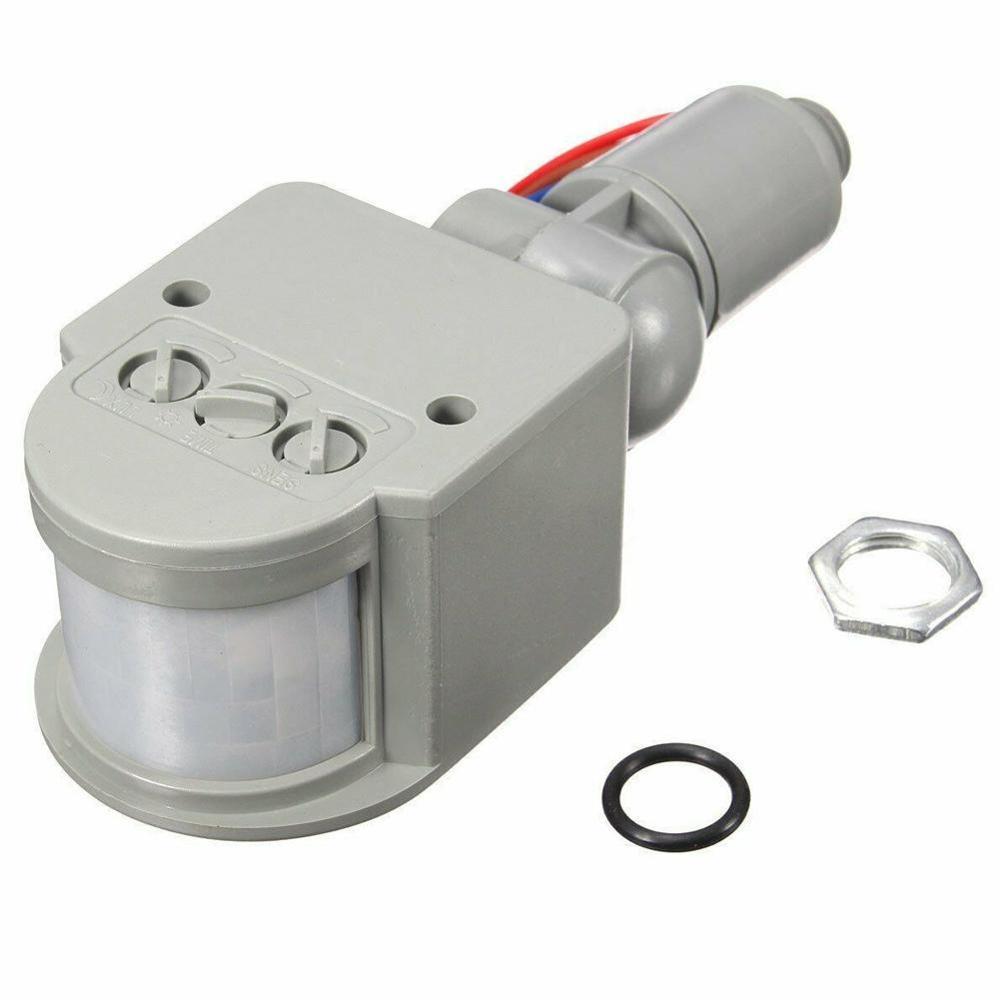 180° LED 110-220V Infrared PIR Motion Sensor Detector Wall Light Outdoor Motion Sensor Wall Light