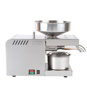 Image 2 - 110/220V Oil presser 610W Household stainless steel Oil press machine Peanut oil maker use for Sesame/Almond/Walnut