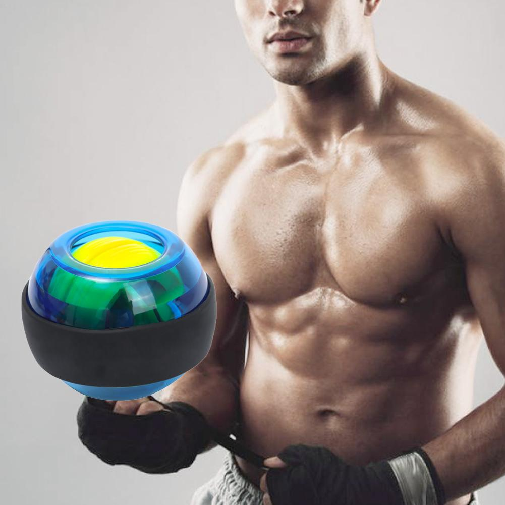 Trainer Relax Gyroscope Ball LED Magic Wrist Ball Illuminated Wrist Force Ball Training Fitness Equipment Muscle Power Ball