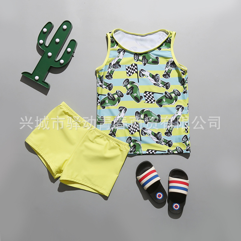 Manufacturers Direct Selling Children Two-piece Swimsuits Two-Piece Set Baby Swim Bathing Suit BOY'S AussieBum Boy Swimwear Whol