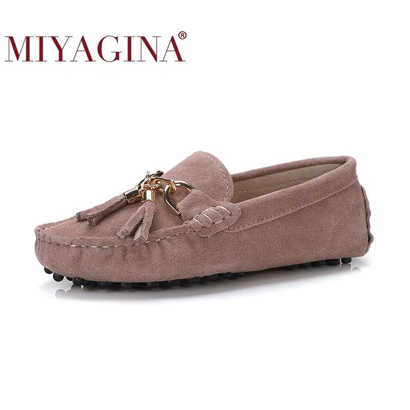 MIYAGINA 2021 New Arrival Casual Womens Shoes Genuine Cowhide Leather Women Loafers Moccasins Fashion Slip On Women Flats Shoes|slip on women|slip onloafers moccasins - AliExpress