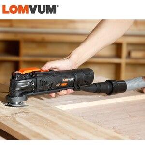 Image 4 - LOMVUM güç jeneratörü akülü salınan 12V/21V ağaç İşleme araçları DIY ev osilatör çok kesici elektrikli giyotin bıçak