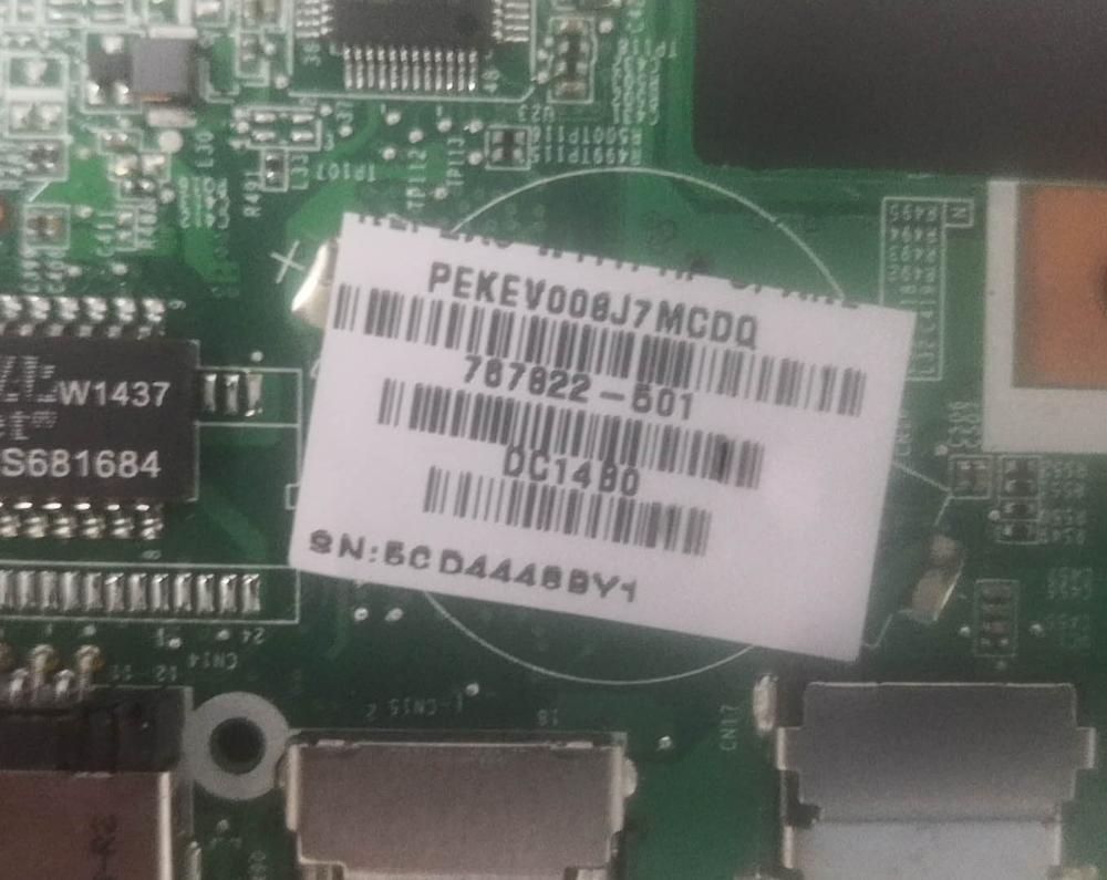 HP Pavilion X360 13-A010DX Laptop Motherboard i3-4030U 767822-501