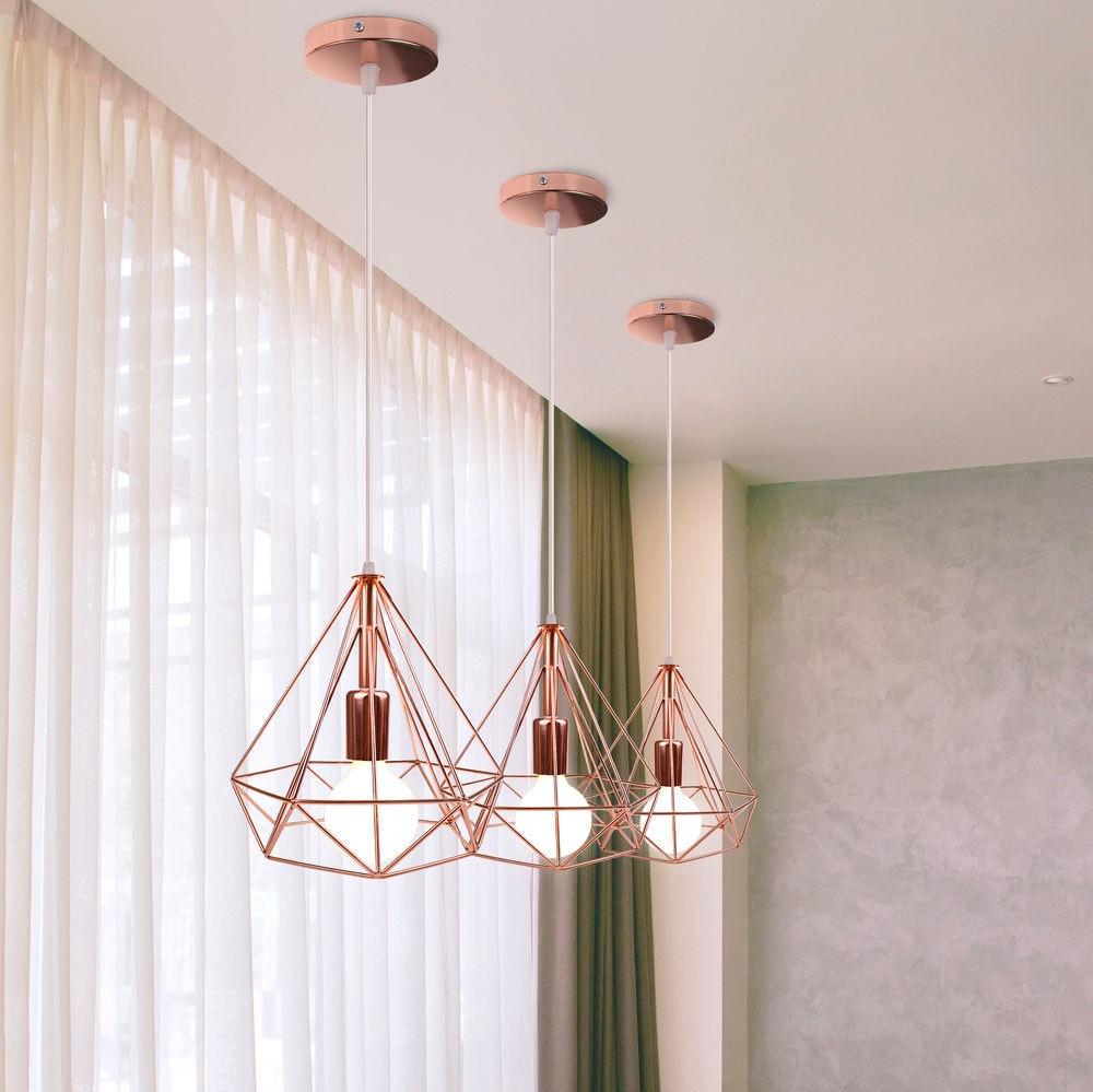 luminaria pendente retro ferro lampada industrial 04