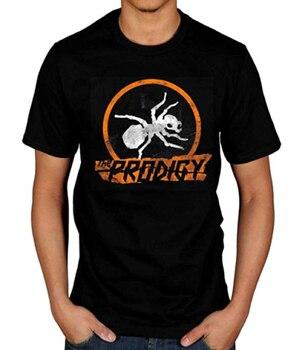 Banda de Música oficial The prodigiy para hombres, camiseta con hormigas, grupo electrónico alternativo