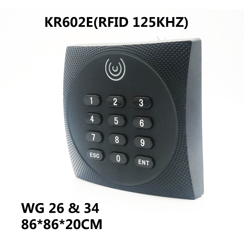 KR602E KR602M Keypad Wiegand Access Control System Slave Card Reader