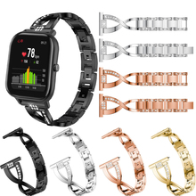 Women Watch band for HuamiAmazfit GTS  Adjustable Stainless