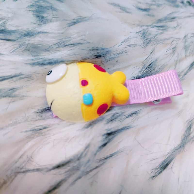 Clownfish คลิปผมสำหรับหญิง Elegant Shiny หางปลาอุปกรณ์เสริมผมแฟชั่น Modish Hairpins สไตล์เกาหลี Mermaid bling