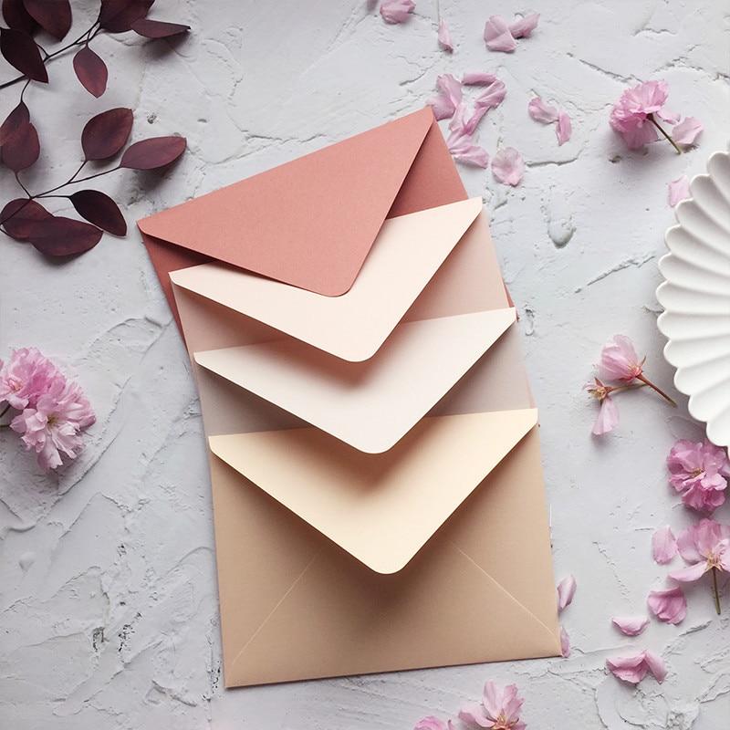 20pcs/lot European Luxury Envelope For Postcard Novelty Envelope Wedding Writing Paper Birthday Christmas Literki Stationery
