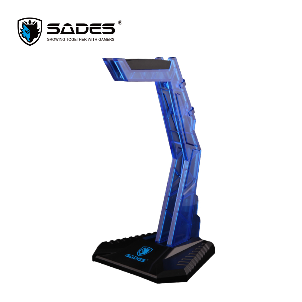 SADES WOLFBONE  Gaming Headset Holder Professional Headphone Stand Modular Stand Holder