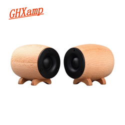 GHXAMP Solid Wooden Tweeter Speaker HIFI Super Treble Sound Box Home Theater KTV Full Range Tweeter Compensation Neodymium 2PCS