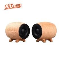 GHXAMP sólido de madera HIFI Tweeter altavoz Super trible Sound Box Home Theater KTV Gama Completa Tweeter compensación neodimio 2 uds