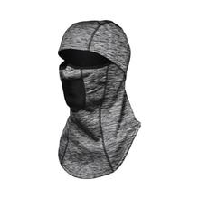 Велосипедная маска для лица водонепроницаемый ветрозащитный Теплый головной убор Зонт с рисунком с обратной стороны для катания на лыжах бега туризма кемпинга LQ6506