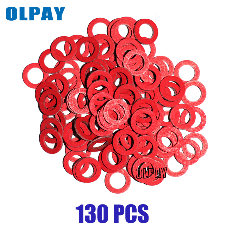 Red Seal Gasket Lower Casing 130 Pieces For Hidea Boat Engine