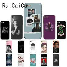 Ruicaica American TV Riverdale Series Cole Sprouse Logo Black TPU Soft Phone Cover for iPhone 8 7 6 6S 6Plus X XS MAX 5 5S SE XR(China)