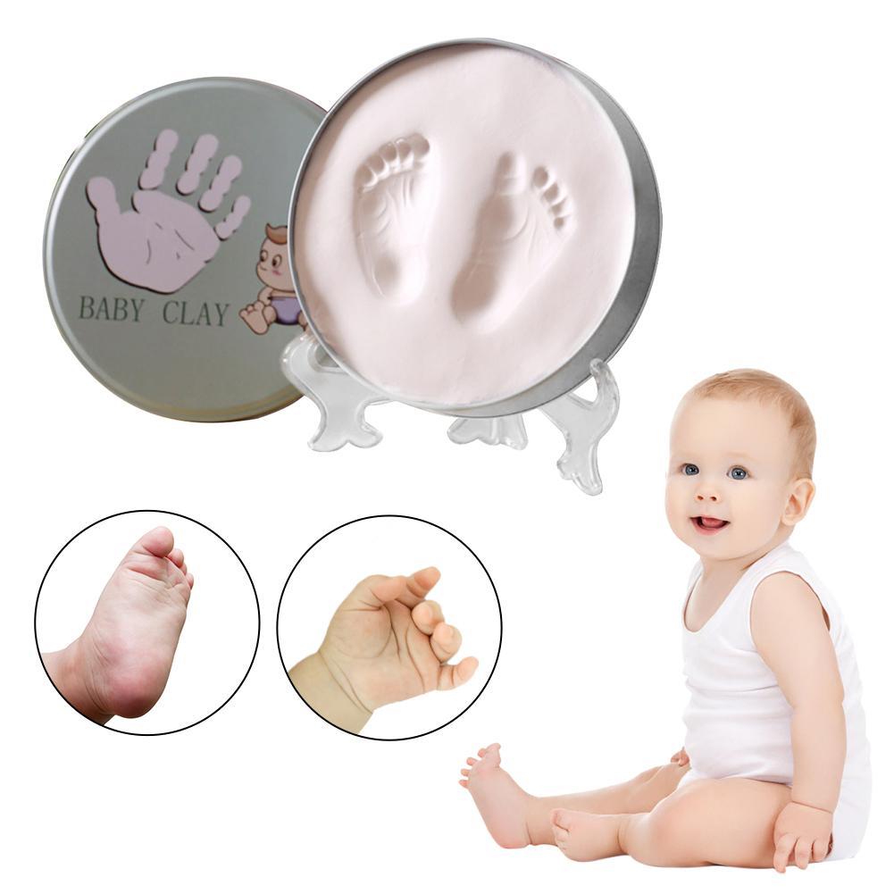 1pcs Newest Baby Hand Footprints Newborn Baby Hand Foot Inkpad Photo Frame Baby Hand And Foot Ink Inkpad Photo Frame Gift