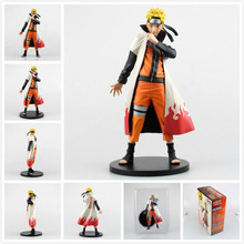 Anime Naruto Ninja Uzumaki Naruto Generation 4 Hokage Suit PVC Action Figure Toy Collection Model Gift