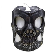 LED Skull Night Light High Quality  Halloween Decoration Party Flameless Candle Lamp
