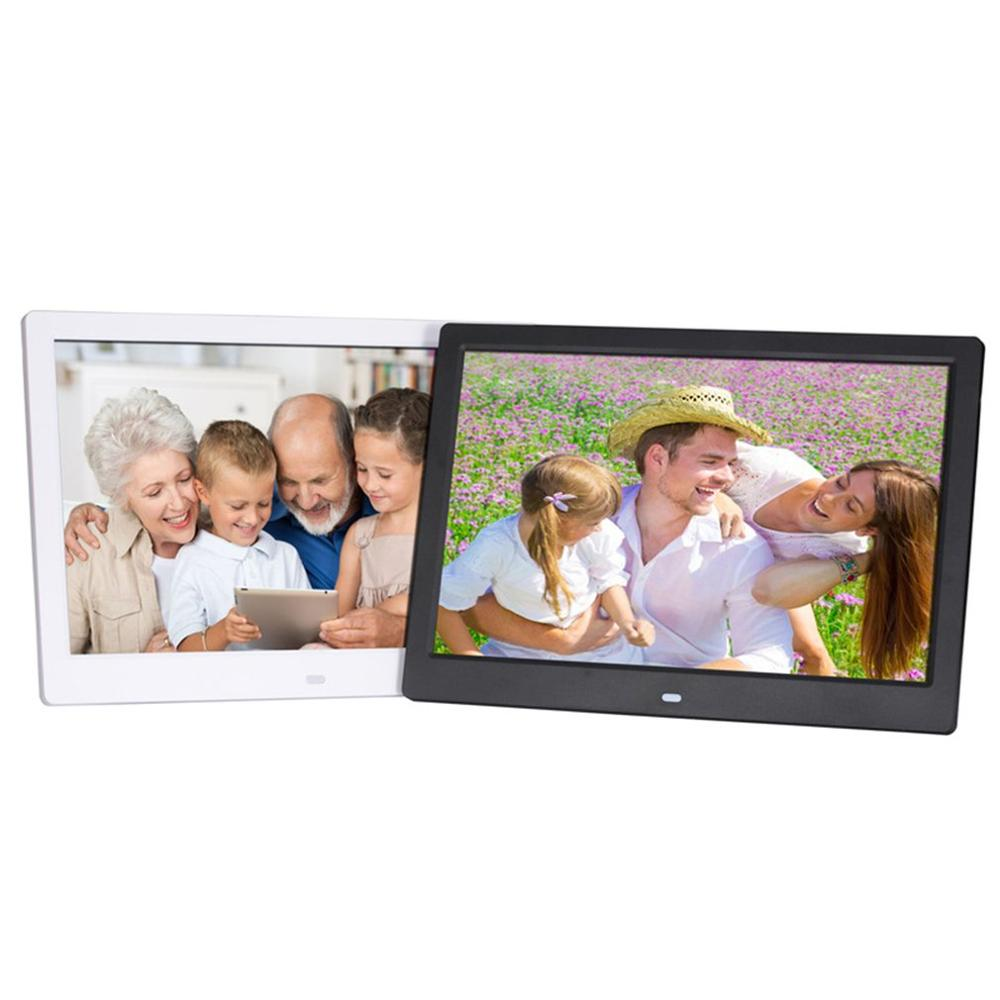 12 inch Screen LED Backlight HD Digital Photo Frame Electronic Album Photo Music Film Full Function Good Gift - 4