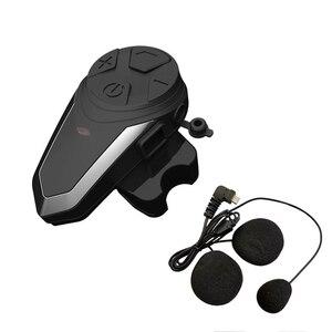 Image 5 - BTS3 Motorhelm Intercom 1200M BT S3 IPX7 Waterdichte Fm Headset Bluetooth 3 Rijders Groep Talk Helm Intercom