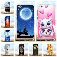 For Xiaomi Redmi 4A Case Silicone TPU Back Cover Coque Capa Protective Pattern Redmi4a Phone Cases