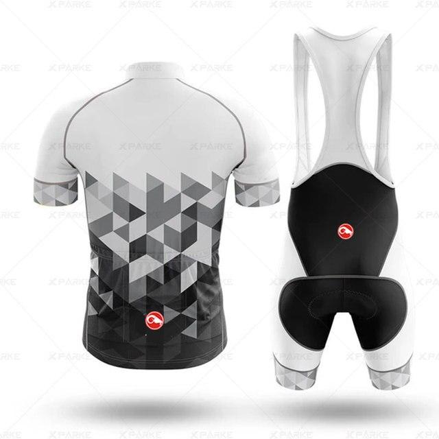 2020 conjunto de camisa de ciclismo dos homens mtb roupas de ciclismo ternos secagem rápida bicicleta respirável ciclismo roupas esportivas manga curta uniforme 2