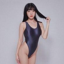 השפן בגד גוף גרביונים סקסי שמנוני גרביונים פיתוי תחתונים סקסי מזויף גרבי אהבת סאטן מבריק בגדי ים סקסי בגד ים