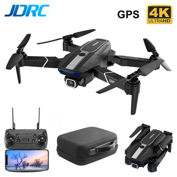 JDRC JD22S WIFI FPV GPS Drone With 5G 4K 1080P Wide Angle HD Camera Professional Foldable RC Quadcopter E58 E520S SG907 S167 цена 2017