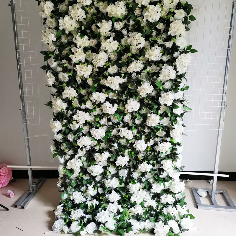 SPR 4 фута * 8 футов/шт. Свернутая ткань основа цветок стена искусственная Роза случай фон цветочный орнамент украшения Бесплатная доставка - 4