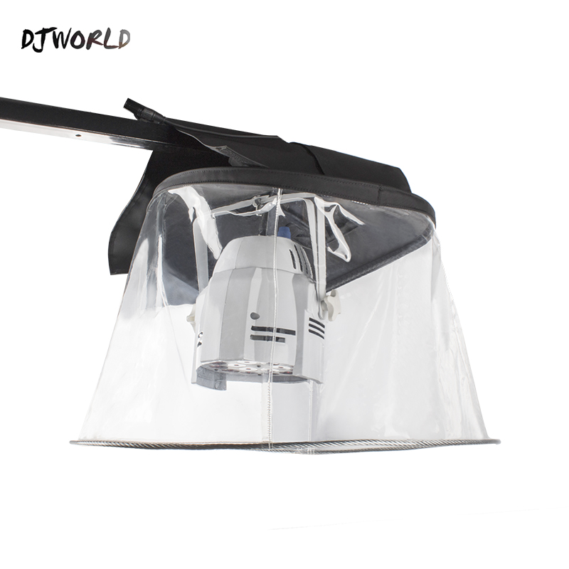 Djworld Rain Cover Transparent Snow Coat Waterproof Covers For <font><b>LED</b></font> <font><b>Par</b></font> Light Moving HeadStage Light Spare <font><b>Parts</b></font> Outdoor Concert image