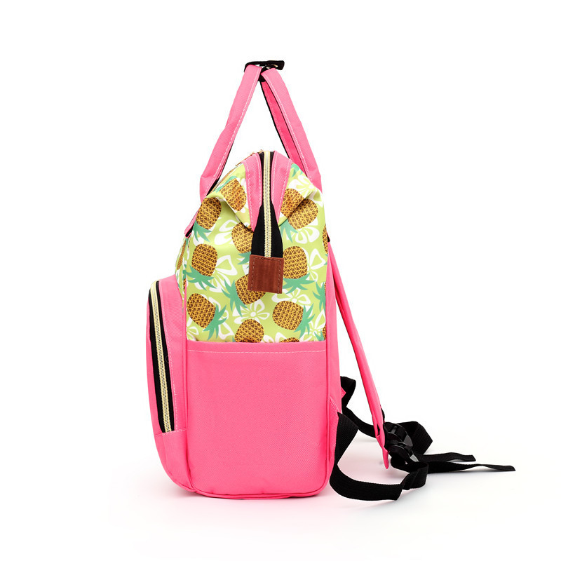New Style Multi-functional Large Capacity Anti Spillage Solid Color Diaper Bag Pregnant Women Hand-Style Shoulder MOTHER'S Bag