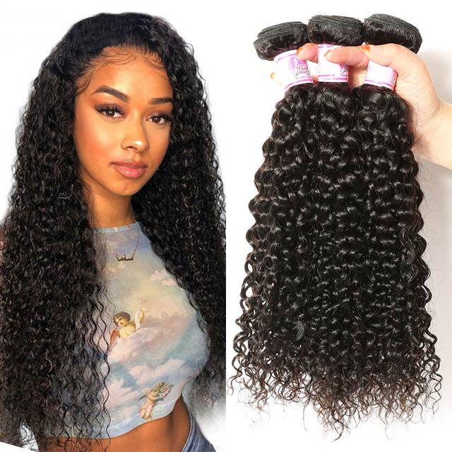 $ US $44.33 Beauty Forever Curly Malaysian Hair Weave Bundles 3 Piece lot Remy Human Hair Weaving Natural Color 8-26inch Free Shipping