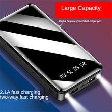 Chargeur de batterie de secours portable 20000 mah, adapté à la série millet huawei samsung iphone