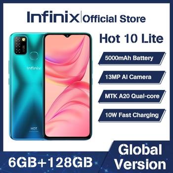 100% Оригинальный Infinix Горячая 10 Lite глобальная Версия смарт телефон 6,6 дюймов Helio A20 2 Гб оперативной памяти, 32 Гб встроенной памяти, распознавания лиц и 13MP тройной Камера|Смартфоны|   | АлиЭкспресс