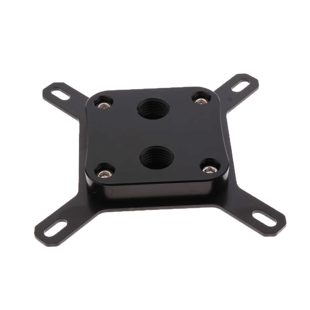 CPU Water Cooling BLOCK Waterblock G1/4 DIA 12.9 มม.สำหรับ INTEL 775 1150 1155 #1