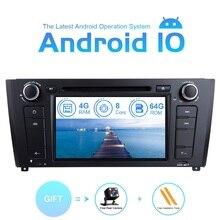 4GB RAM 64G ośmiordzeniowe 1Din Android 10.0 Radio samochodowe DVD dla BMW E87 BMW 1 seria E88 E82 E81 I20 odtwarzacz multimedialny nawigacja GPS